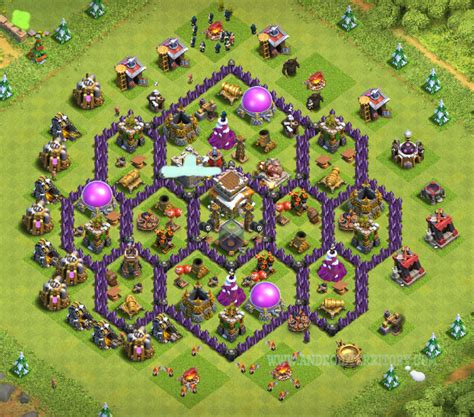 layout th8 home base th8 best base layouts best bases town hall 8 base