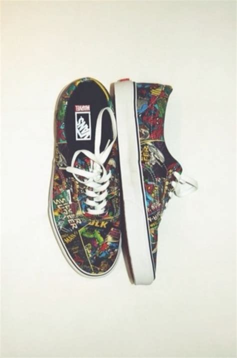 Meme Vans Shoes - marvel comic vans shoes memes