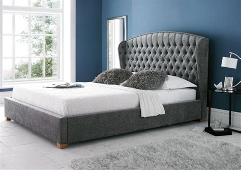 Kingsize Beds by Upholstered Bed Frame King Size Beds Bed Sizes