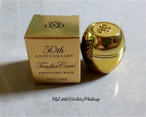 oriflame 50h anniversary tender care protecting balm review paperblog