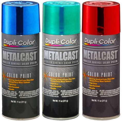 duplicolor metalcast annodized paint 11 oz dupmcxxx series