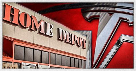 pens at home depot tesla to start selling products at 800 home depot stores