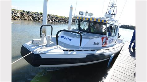 boat r tweed heads commissioning of a new marine rescue boat at crowdy head