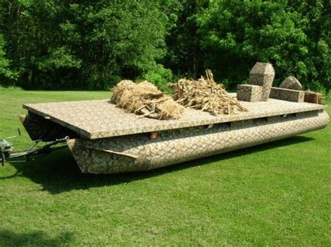 duck hunting pontoon boat 17 of 2017 s best duck hunting blinds ideas on pinterest