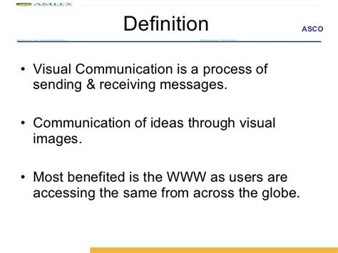 visual layout meaning visual communication