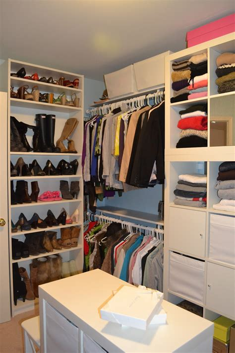 the master closet makeover