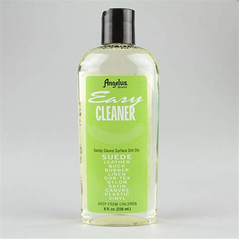 angelus paint on mesh angelus easy cleaner 8oz bottle for suede leather nubuck