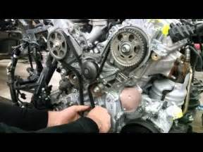 Acura 3 7 Engine Setting Up Timing Belt On Honda Acura 3 2l 3 5l 3 7l J