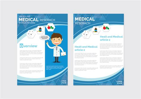 Health And Wellness Brochure Template Download Free Vector Art Stock Graphics Images Wellness Template