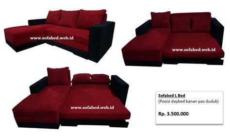 Sofa Balikpapan sofabed minimalis multifungsi warna merah cocok buat