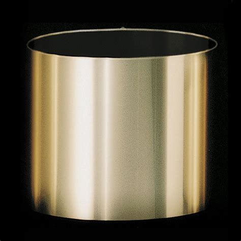 7 inch brushed gold plastic planter fits 6 5 inch pots bc 6