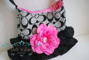 Childrens purse little girls purse black by cutensassycreations