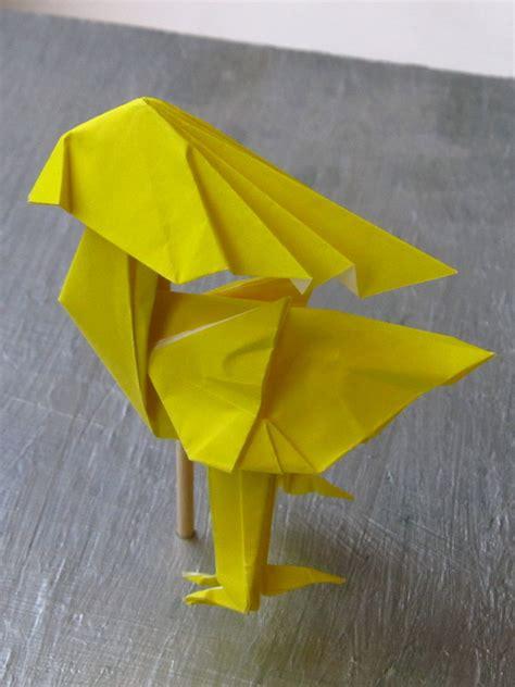 Chocobo Origami - chocobo satoshi kamiya by origamiphoenix on deviantart