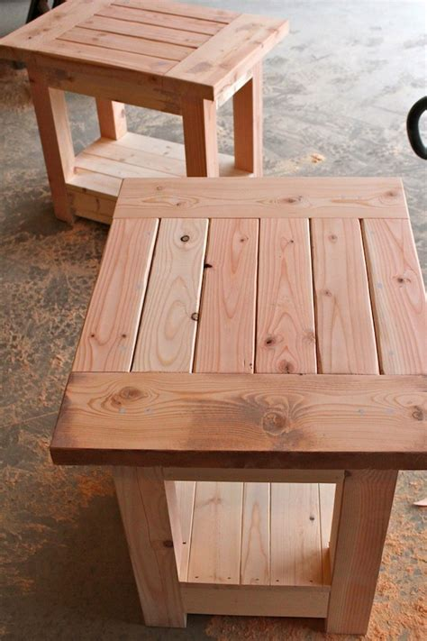 woodwork  table plans ana white  plans