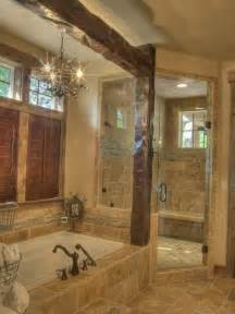 Rustic Bathrooms Ideas Spaces Rustic Shower Design Pictures Remodel Decor And