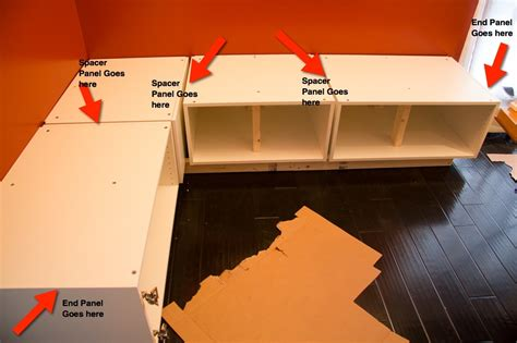 how to build a banquette out of cabinets part 4 of a tutorial on building diy kitchen banquette seating