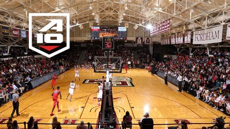 Fordham Mba Schedule by Atlantic 10 Announces S Basketball 2016 2017 Schedule