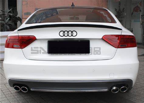 Audi A5 Wing by High Q Rear Trunk Spoiler Rear Wing Spoilers Trunk Lid