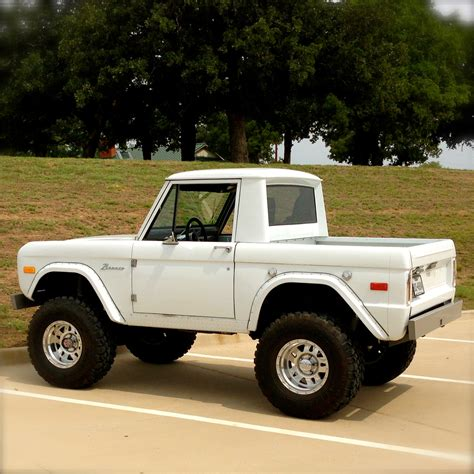 High Prifile Set Jeep Bronco Ford bronco cars trucks