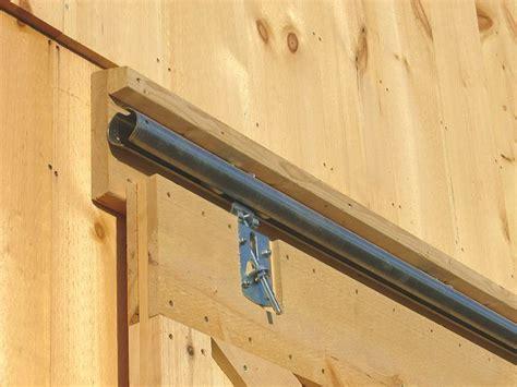 build  barn sliding barn door   build