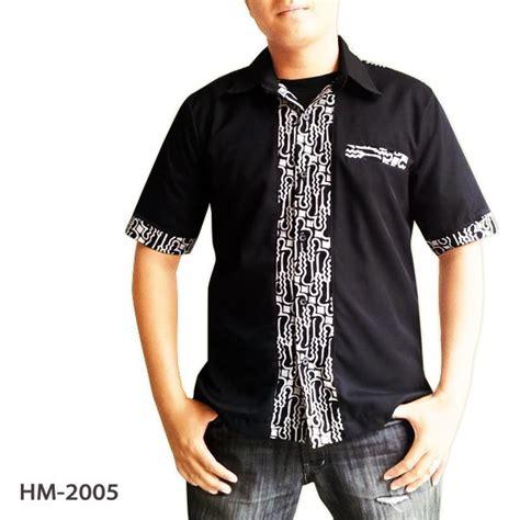 desain kemeja simple kemeja batik laki trendy untuk ke kondangan dengan gaya simple