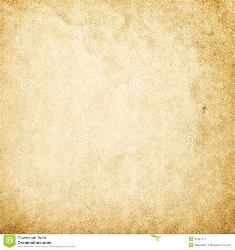 vintage paper template stock photography image 34597312
