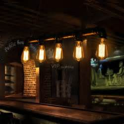 Restaurant Kitchen Lighting Edison Pipe L Loft Style Light Antique Kitchen Restaurant Coffee Bar Counter Vintage Pendant