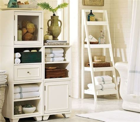shelves bathroom storage add glamour with small vintage bathroom ideas