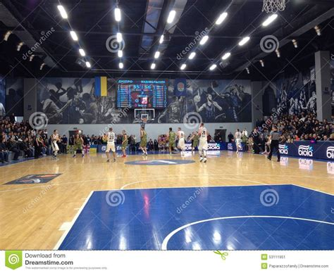 Bc Mba Stock Pitch by Basketball Pitch View Editorial Photo Image 53111951