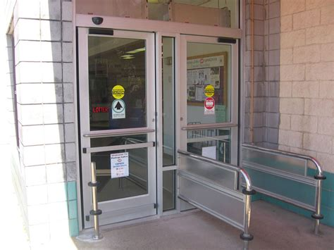 auto swing door automatic door products trinity door systems automatic