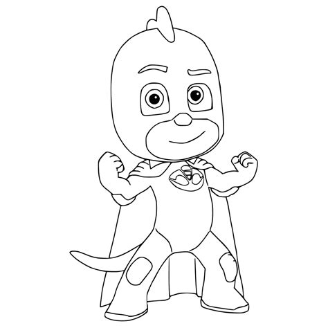 pj masks romeo coloring page top 30 pj masks coloring pages