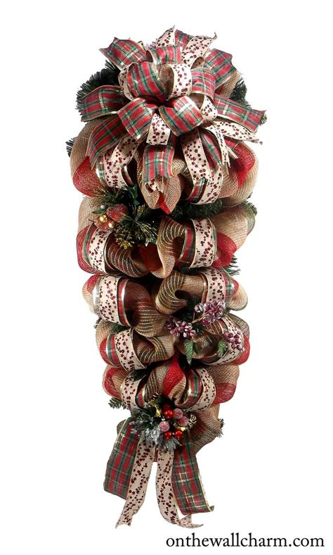 swags wreaths 25 best ideas about swags on door
