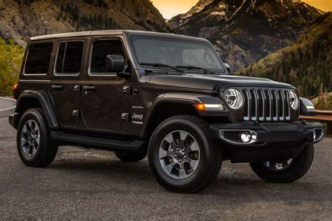 Jeep Generation Jeep Wrangler Unlimited 2018 Jl Fourth