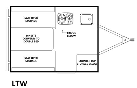 Rv Chalet Plans by Chalet Ltw Floorplan Pop Up Cers