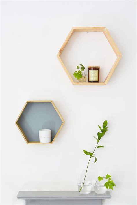 Diy Home Decorating Ideas For Mid Century Modern Lovers Diy Honeycomb Shelves