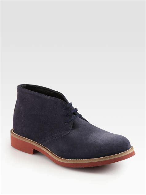 suede chukka boots to boot norman suede chukka boots in blue for blue
