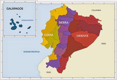 imagenes de limites naturales mapa del ecuador para colorear mapa por provincias