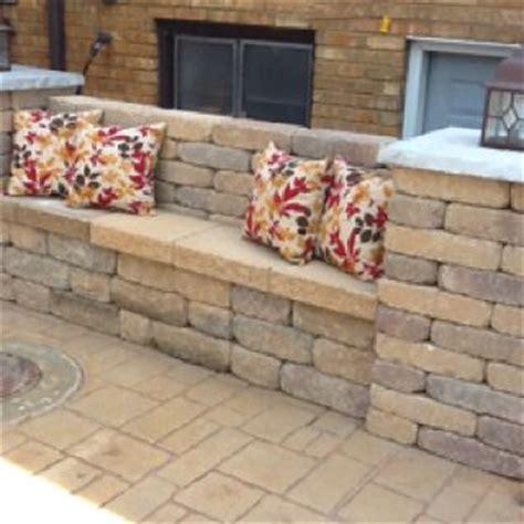 how to make a brick bench brick bench w pillars n light post on slate top backyards outdoors pinterest