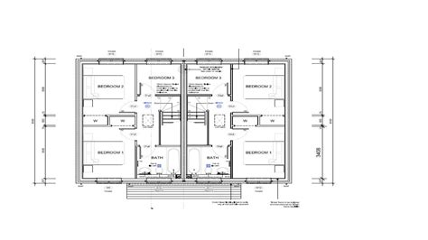 semi detached floor plans two bedroom semi detached house plan house design and plans