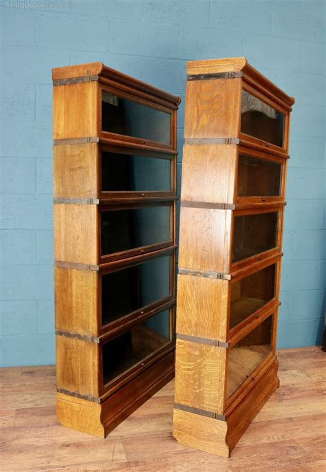 globe wernicke sectional bookcase pair of globe wernicke sectional bookcases antiques atlas