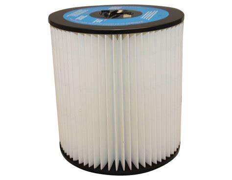 Vacuum Filter Vacuflo 7 Inch Pleated Generic Cartridge Filter Evacuumstore