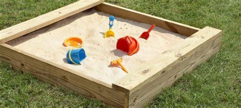 bring  beach   backyard amazing diy sandbox