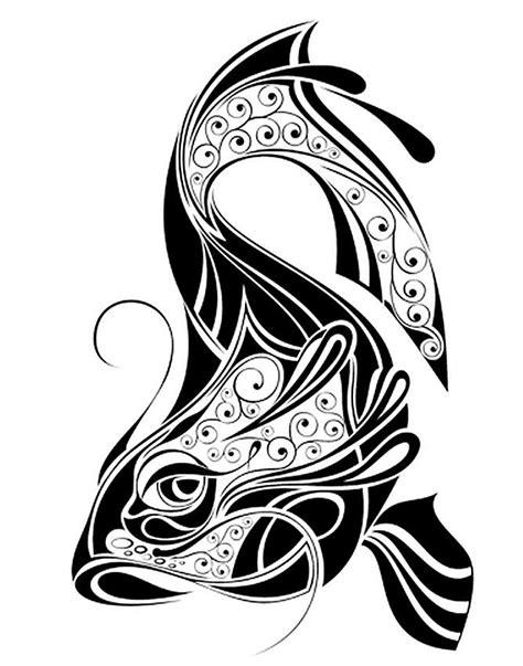 tribal koi tattoo koi gallery slideshow