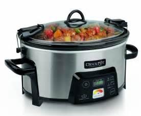 crock pot travel serve 6 quart programmable slow cooker