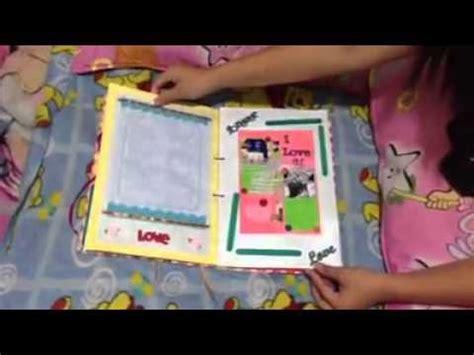 Scrapbook For Boyfriend Happy St Monthsary Iloveyou
