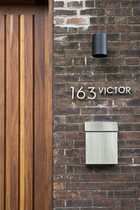 modern house numbers 20 modern and creative diy house number projects home design and interior