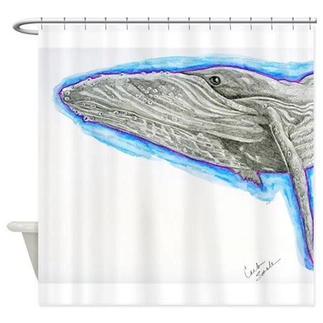 original shower curtains humpback whale original shower curtain by carlaspetportraits