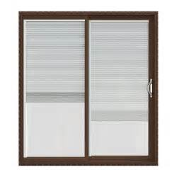 Home Depot Patio Blinds Jeld Wen V 2500 Series Vinyl Sliding Patio Door With