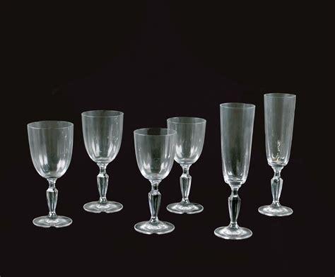 bicchieri villeroy e boch servizio di 24 bicchieri in cristallo villeroy boch