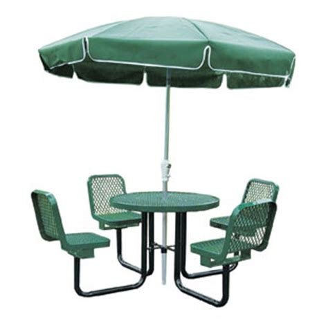 commercial picnic tables with umbrellas commercial metal picnic tables